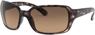 Havana/Light Brown Black Gradient Lenses