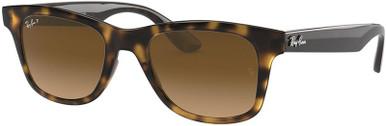 Shiny Havana/Brown Gradient Polarised Lenses