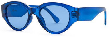 Electric Blue/Blue Lenses