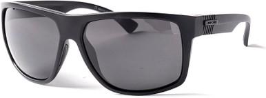Stringer - Matte Black/Grey Glass Polarised Lenses