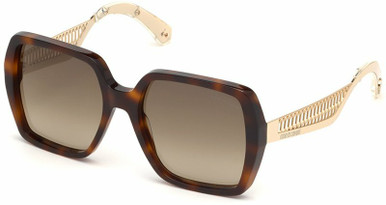 1106 - Tort and Gold/Brown Gradient Lenses