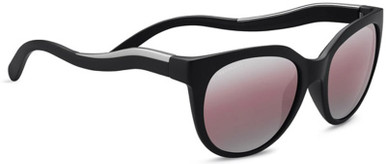 Satin Black, Satin Silver/Sedona Bi Mirror Polarised Lenses