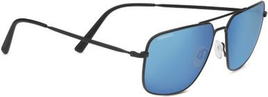 Matte Black/555nm Blue Polarised Lenses