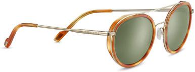Light Gold and Orange Tortoise/Green 555nm Polarised Lenses