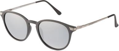 Grey and Gunmetal/Silver Flash Mirror Polarised Lenses