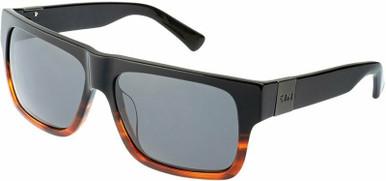 Zephyr II - Black and Brown/Smoke Polarised Lenses