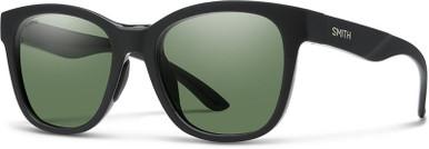 Caper - Matte Black/Chromapop Green Polarised Lenses