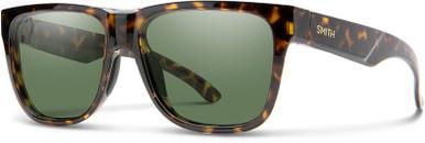 Lowdown 2 - Brown and Yellow Havana/Green Polarised Lenses
