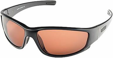 Cristo - Gloss Black/CR39 Copper Polarised Lenses