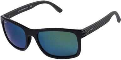 Gloss Black and Matte Hybrid/Nexus Glass Polarised Lenses