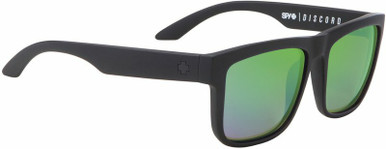 Discord - Matte Black/HD+ Bronze with Green Spectra Polarised Lenses