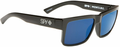 Montana - Black/HD+ Grey Green with Blue Spectra Polarised Lenses