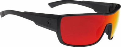 Tron 2 - Matte Black/HD+ Grey Green with Red Spectra Lenses