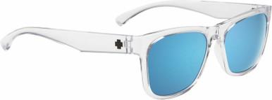 Sundowner - Crystal Grey/Grey with Dark Blue Spectra Lenses