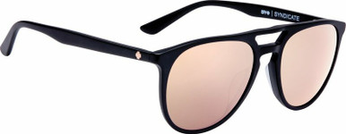 Syndicate - Matte Black/HD+ Rose Bronze with Rose Spectra Lenses