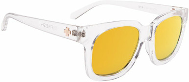 Shandy - Crystal/Grey with Gold Spectra Lenses