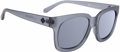 Shandy - Matte Translucent Grey/Grey with Silver Spectra Lenses