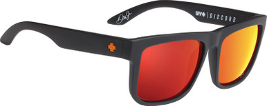 Dale Jr Matte Black/HD+ Grey Green with Red Spectra Lenses