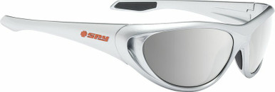 Scoop 2 - Metallic Chrome/HD+ Grey Green with Silver Spectra Lenses
