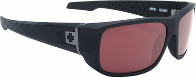MC3 - Matte Black Logo Fade/HD+ Rose with Silver Spectra Polarised Lenses