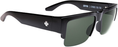 Black/HD+ Grey Green Lenses