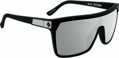 Flynn - Soft Matte Black/HD Plus Grey Green with Silver Spectra Polarised Lenses
