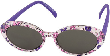 Squirt - Toddler - Purple Floral/Grey Lenses