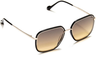 Black and Gold/Brown Gradient Lenses