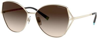 TF3072 - Pale Gold/Brown Gradient Lenses