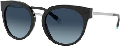 TF4168 - Black/Azure Gradient Blue Polarised Lenses