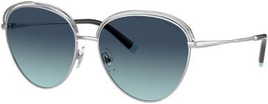 TF3075 - Silver/Tiffany Blue Gradient Lenses