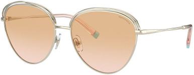 TF3075 - Pale Gold/Pink Gradient Orange Lenses