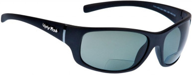 Matt Black/Bifocal +2.5 Grey Polarised Lenses