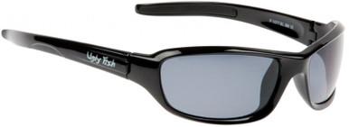Shiny Black/Smoke Polarised Lenses