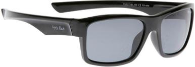 Shiny Black /Smoke Polarised Lenses