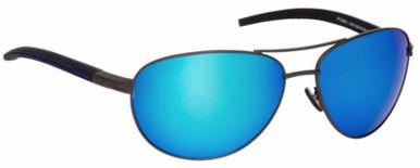 Gunmetal/Blue Revo Polarised Lenses