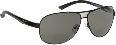 Black/Bifocal + 2.0 Smoke Polarised Lenses
