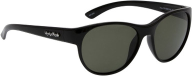 Black/Bifocal +2.00 Smoke Polarised Lenses