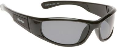 PK911 KIDS - Shiny Black/Smoke Polarised Lenses