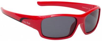 PK255 KIDS - Red/Smoke Polarised Lenses