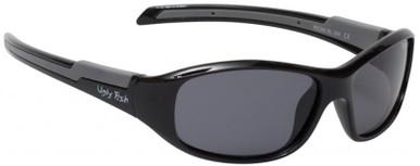 PK366 KIDS - Shiny Black/Smoke Polarised Lenses
