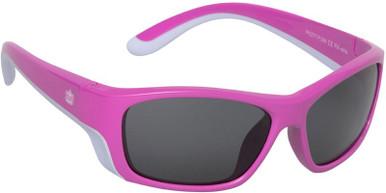 Pink/Smoke Polarised Lenses