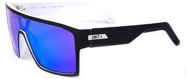 Command - Black and White/Blue Mirror Polarised Lenses