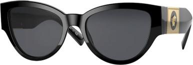 Black/Dark Grey Lenses
