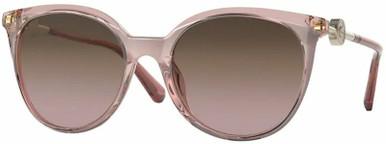 Transparent Pink/Violet Gradient Brown Lenses