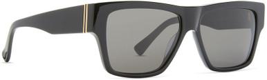 Haussmann - Gloss Black/Vintage Grey Lenses
