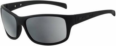 Phin - Matte Black/Silver Mirror Polarised Lenses