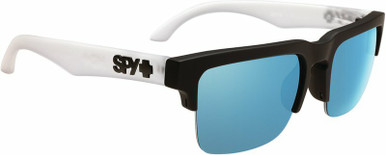 Helm 5050 - Matte Black Clear/HD+Grey Green with Light Blue Spectra Lenses