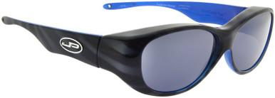 Tiger Stripe Black Blue/Grey Polarised Lenses