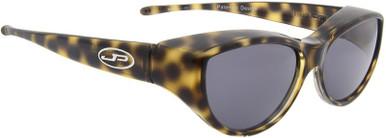 Cat Eye - Leopard/Grey Polarised Lenses